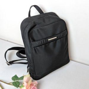 Hilliard & Hanson black small mini backpack